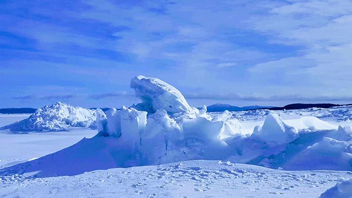Яркая зима на Сахалине