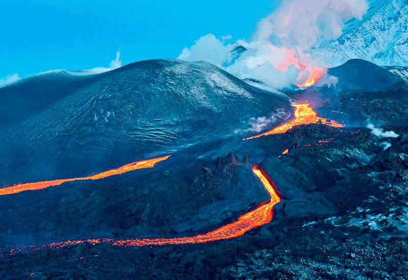 Вода и пламя. Камчатка 2021