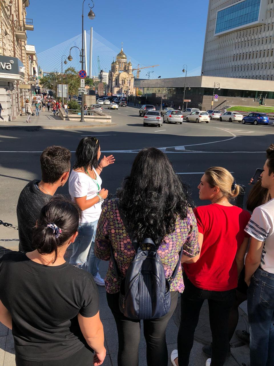 Пешеходные экскурсии во Владивостоке