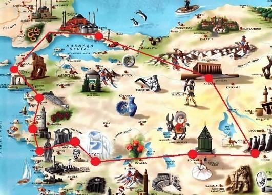 Турция - по следам великих цивилизаций