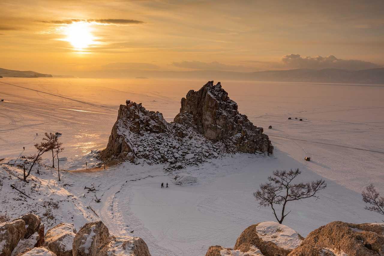 Очарование Ольхона. Зима